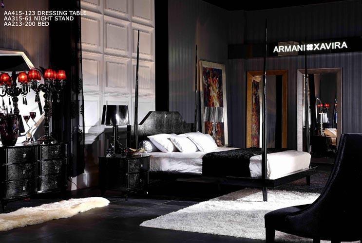 Armani Xavira Gothic Bed