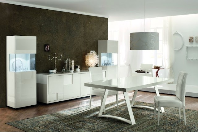 Nightfly White Dining By Rossetto