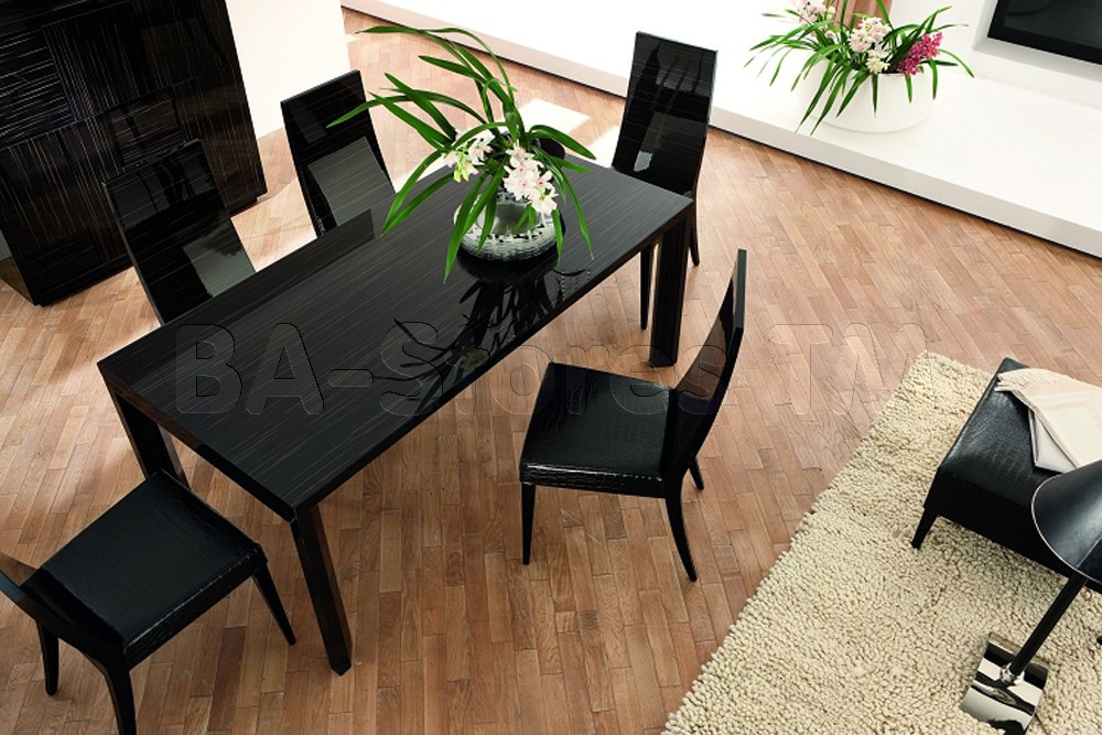 Nightfly  Ebony  Dining  By  Rossetto