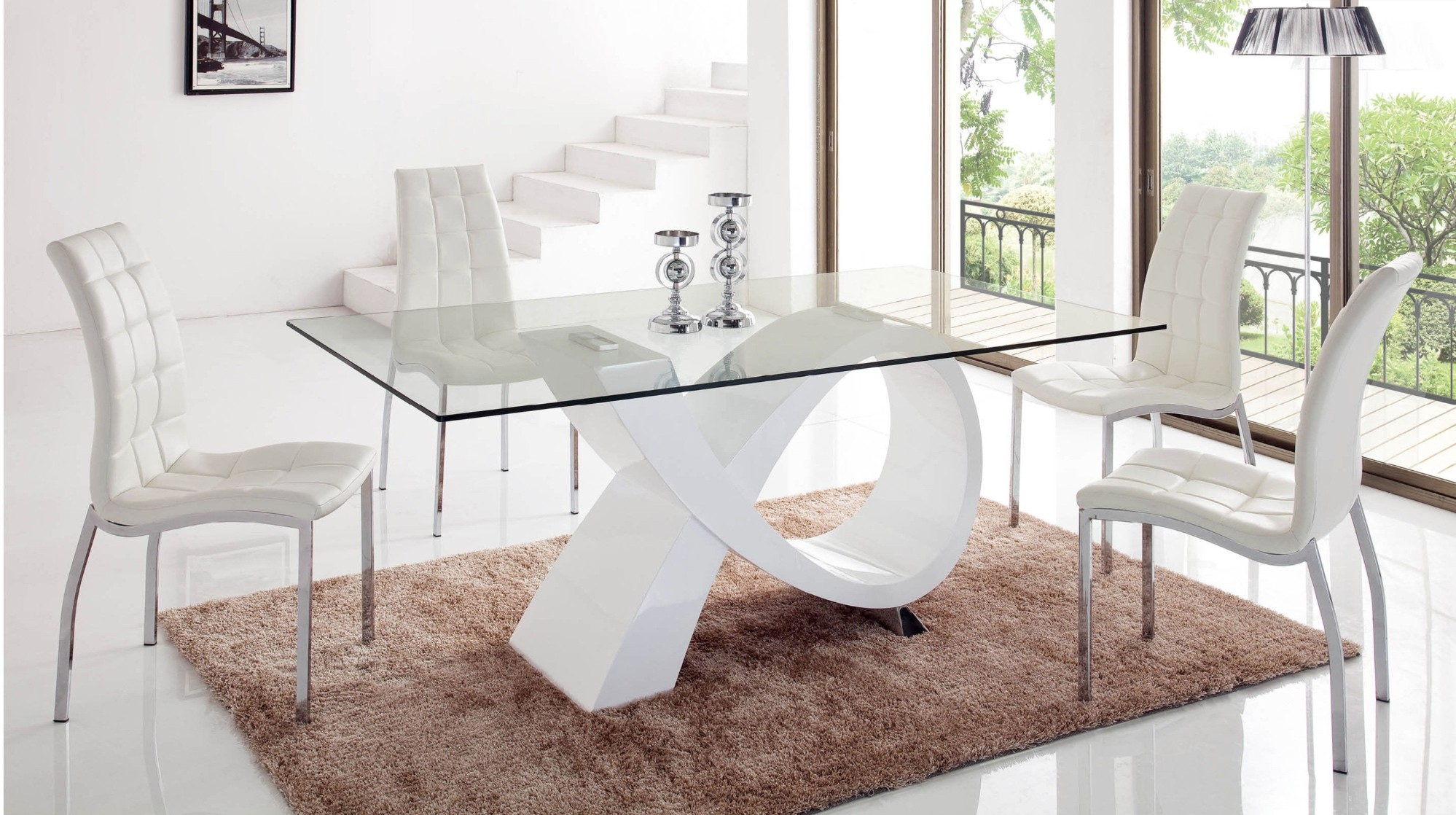 989 Modern Dining Room Table