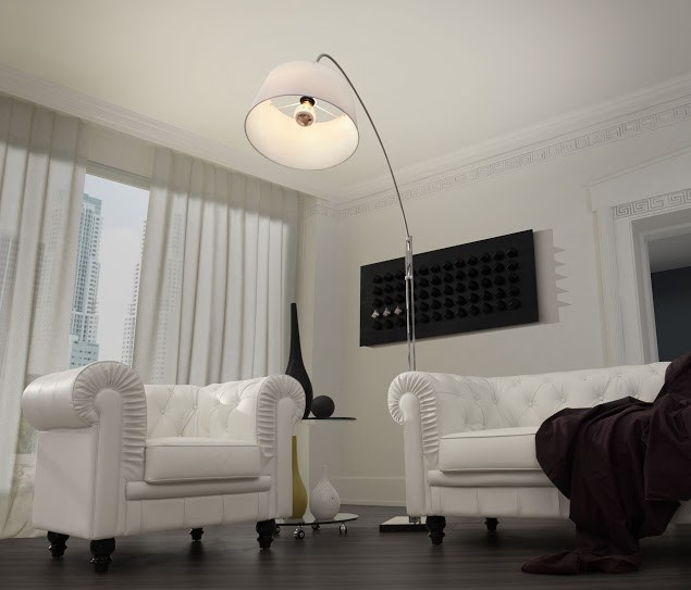 Alpha Floor Lamp by Zuo Mod