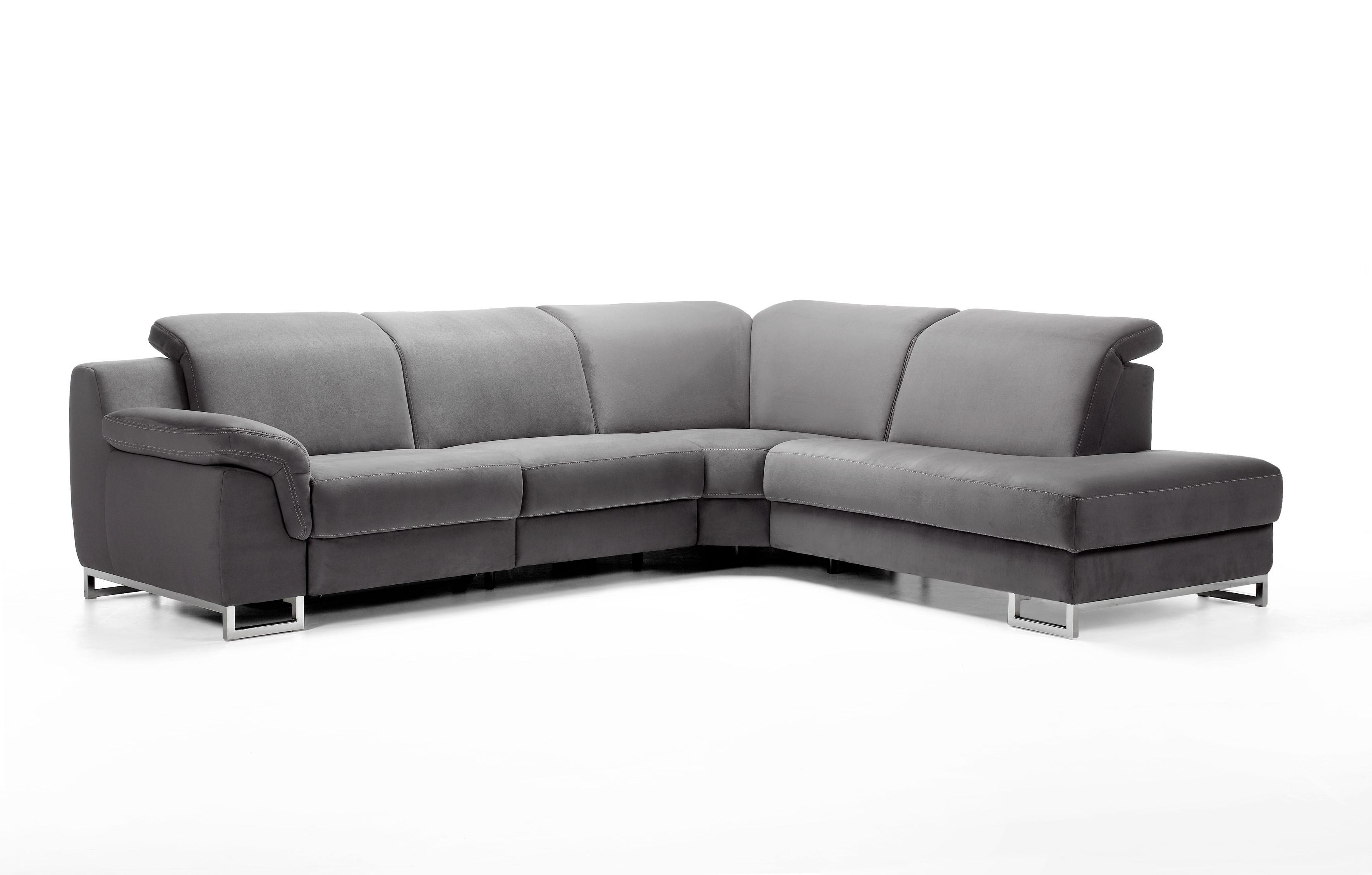 Apollon Leather Sectional | Rom | Made In Belgium