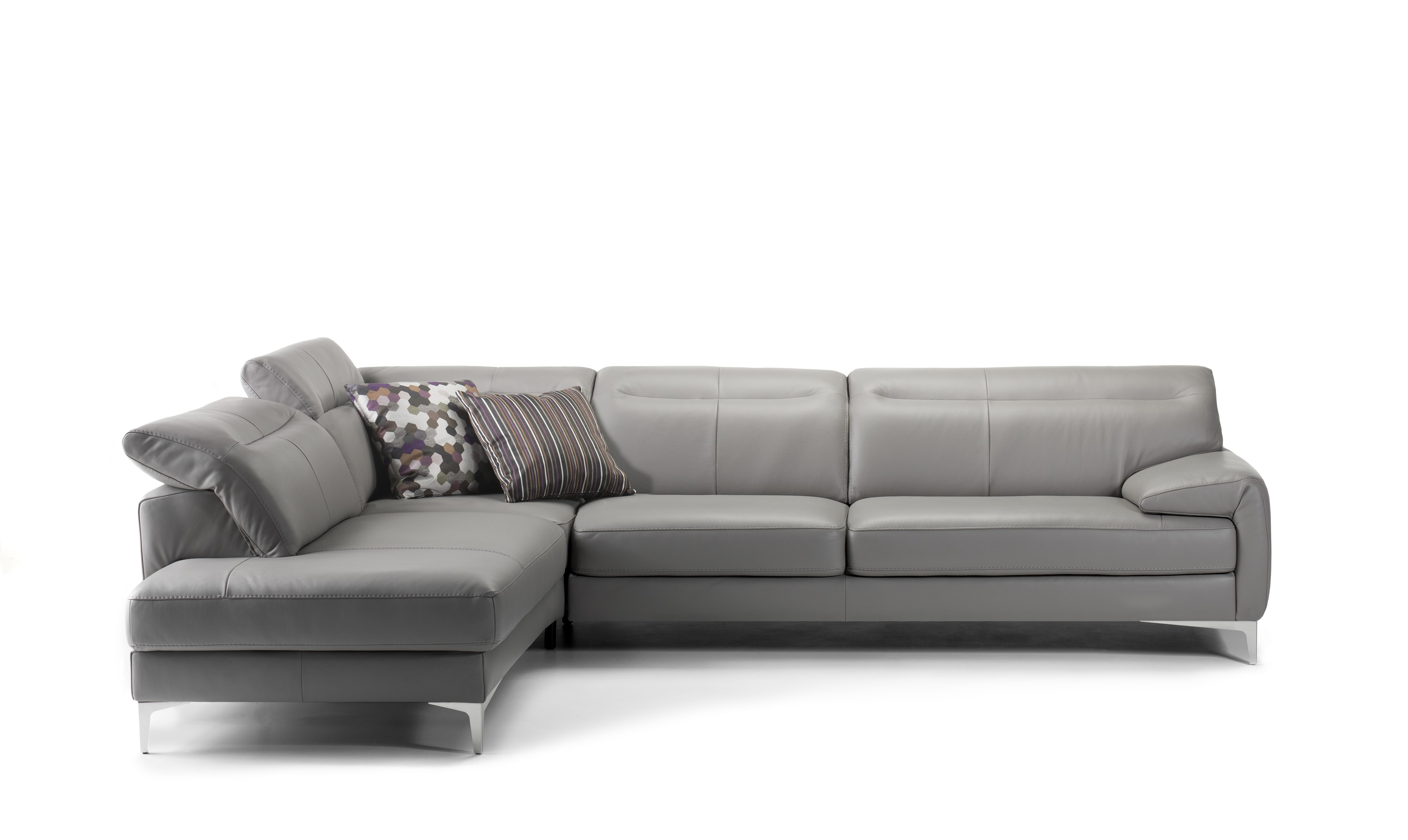 Aruba Leather Sectional | Rom | Made In Belgium