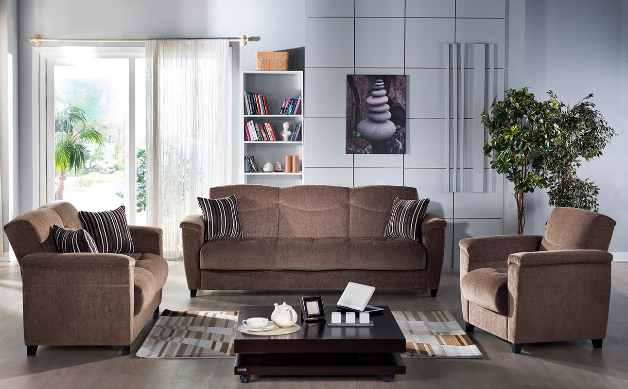 Aspen Sofa By Sunset (Yuky Brown)