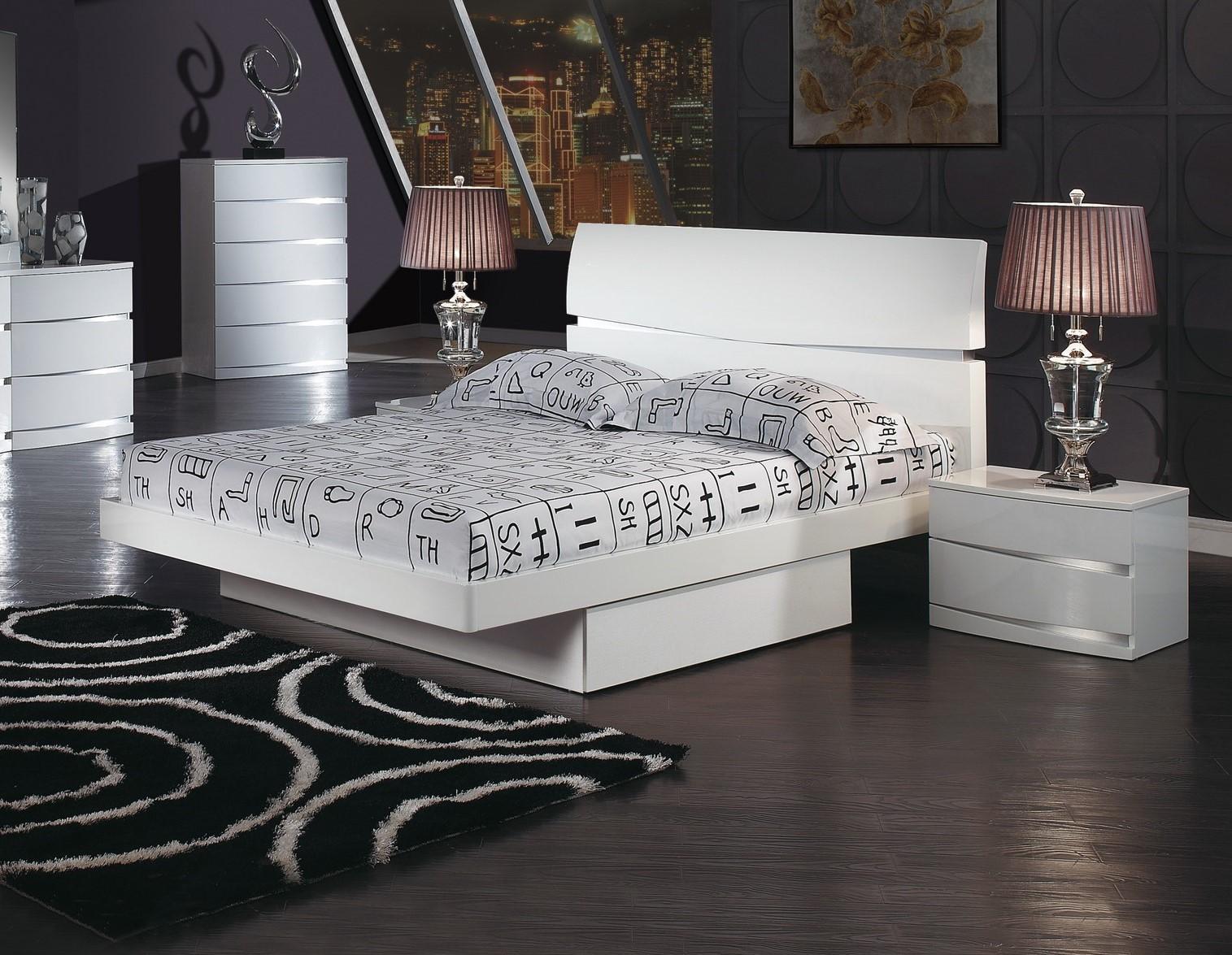 Aurora Modern Storage Platform Bed by Global USA