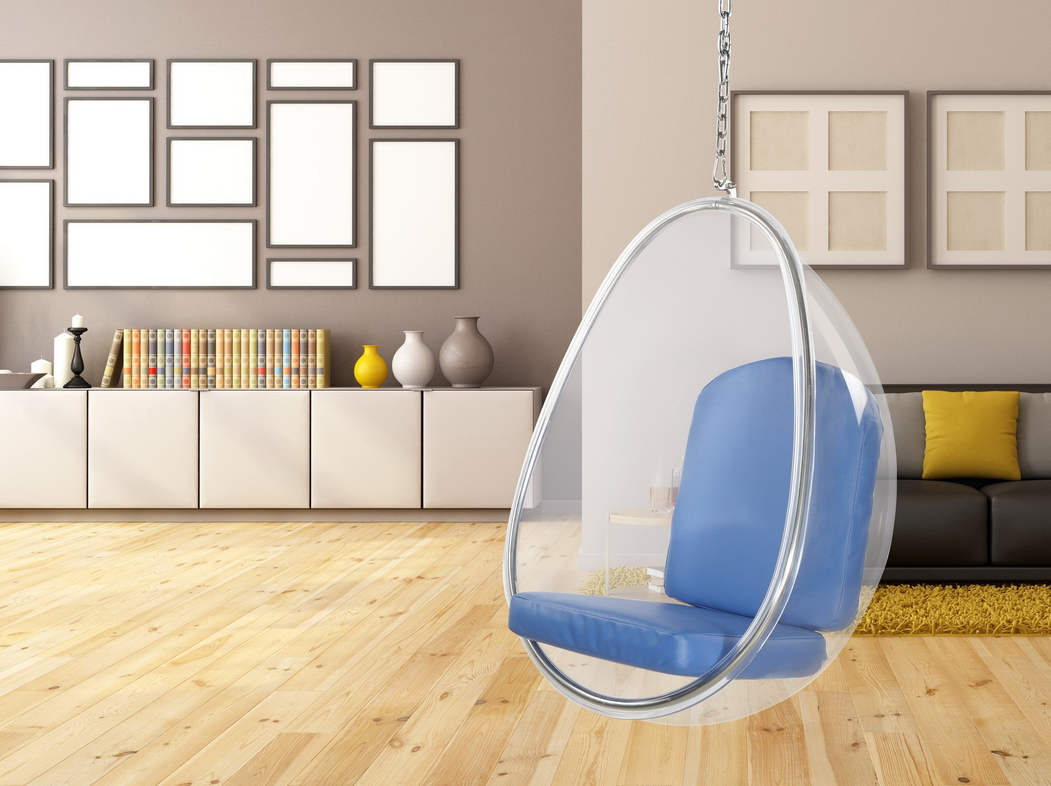 Balloon Hanging Chair Occasional Chairs Modern