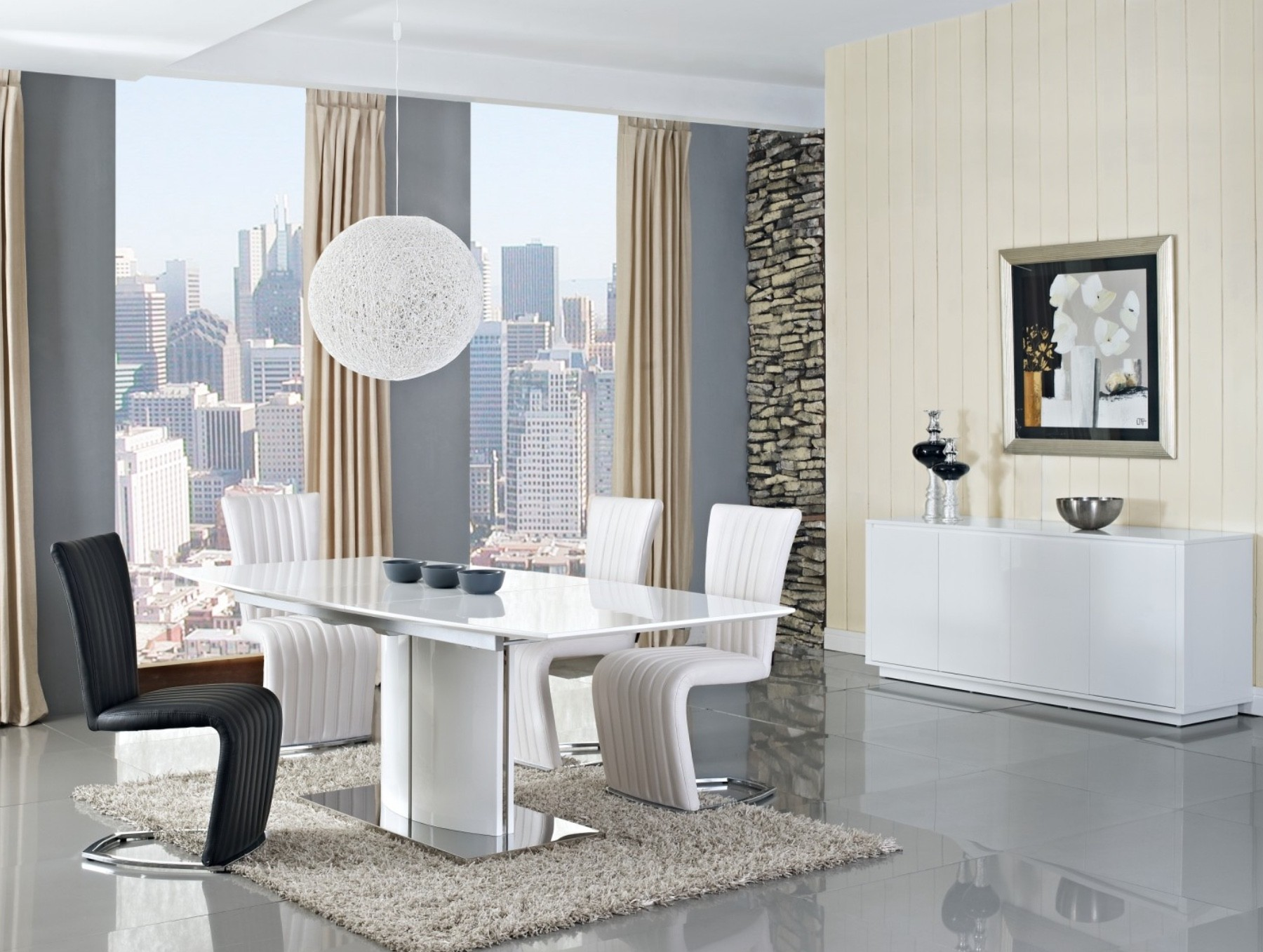 Blanch Modern Dinning Room Table