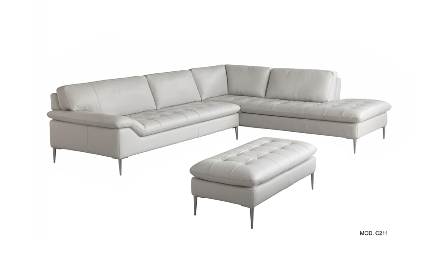 C211 Italian Leather Sectional| Chateau Du0027Ax Italia