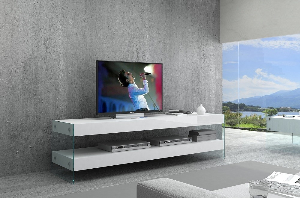 Cloud TV Base in High Gloss