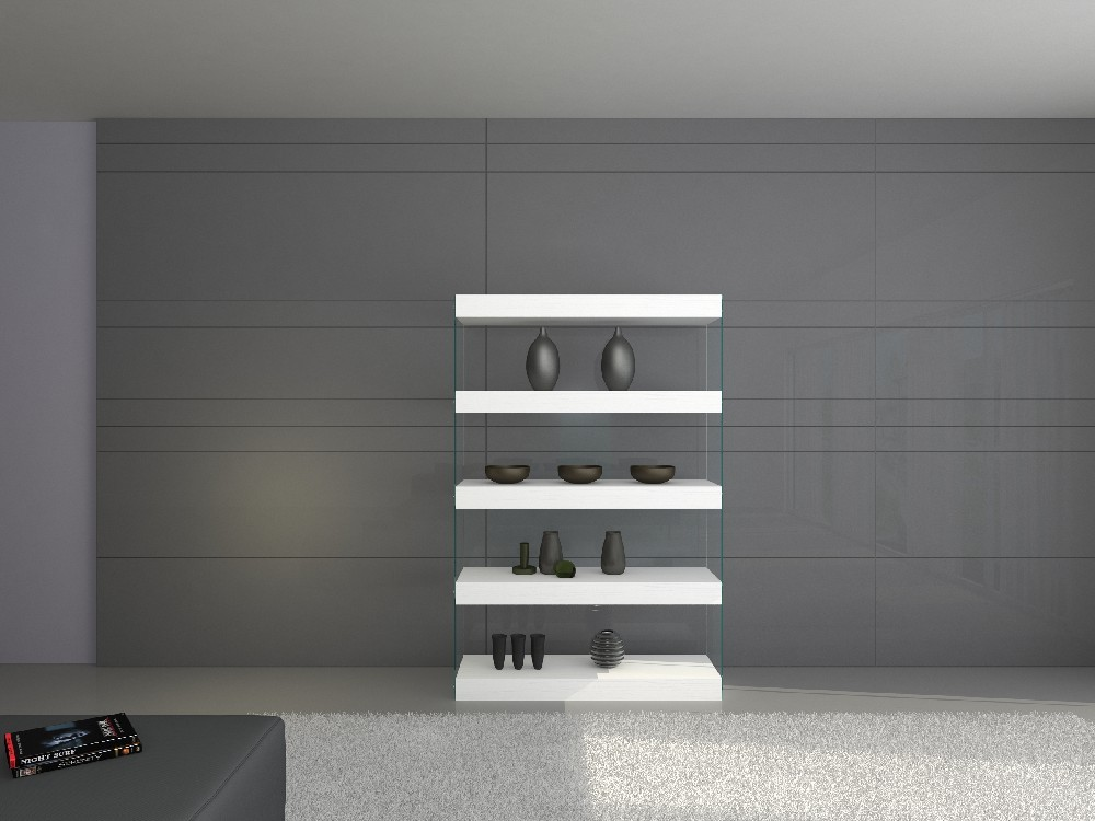 CLOUD CURIO UNIT (White High Gloss) By J&M