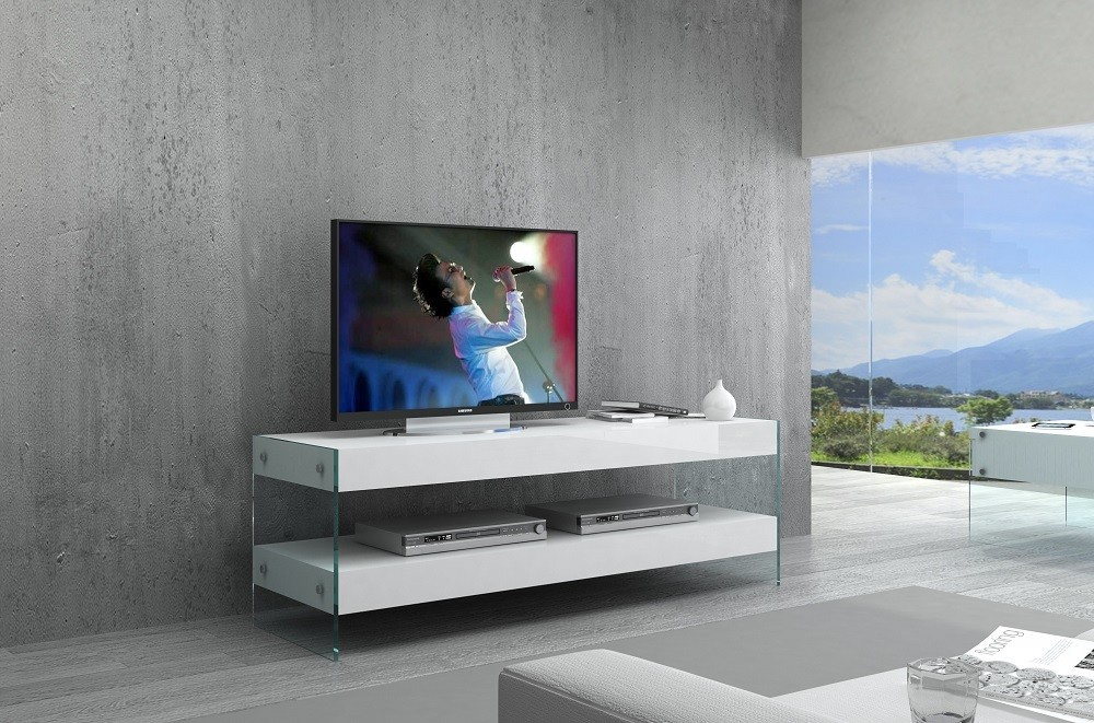 Cloud Mini TV Base in High Gloss