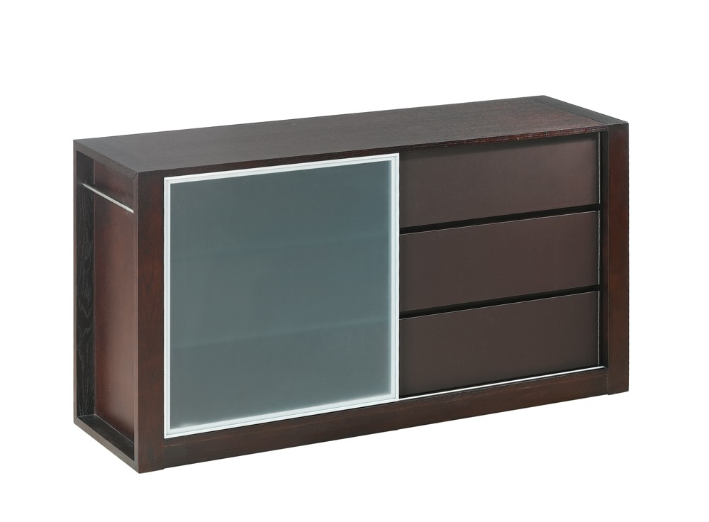 Colibri modern buffet with sliding door