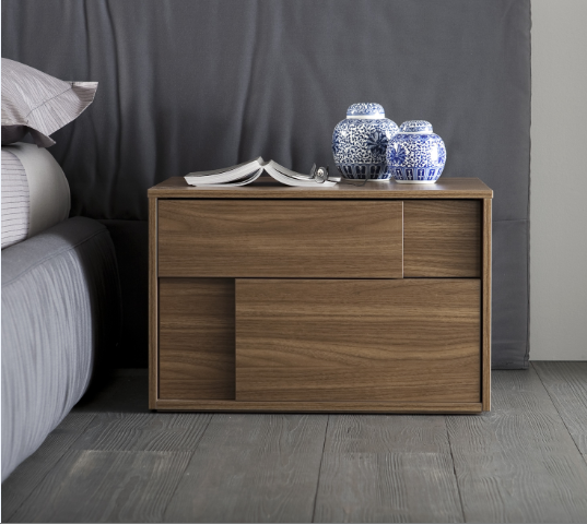 Rossetto Square Nightstand