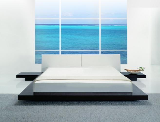 Opal   Low Profile Platform Bed