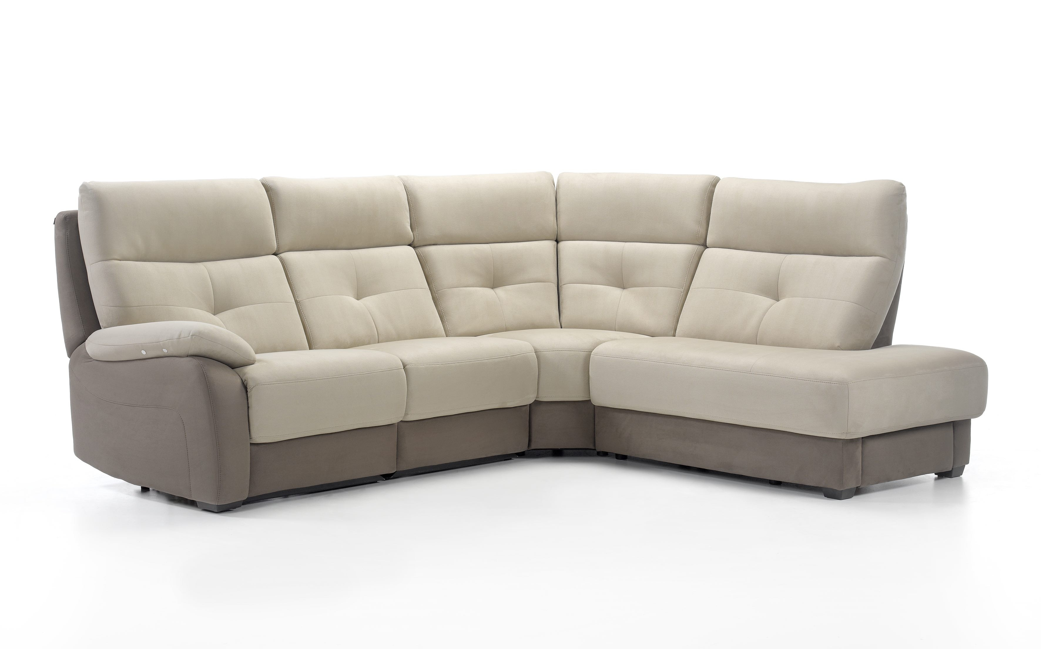 Florac Leather Sectional | Rom | Made in Belgium