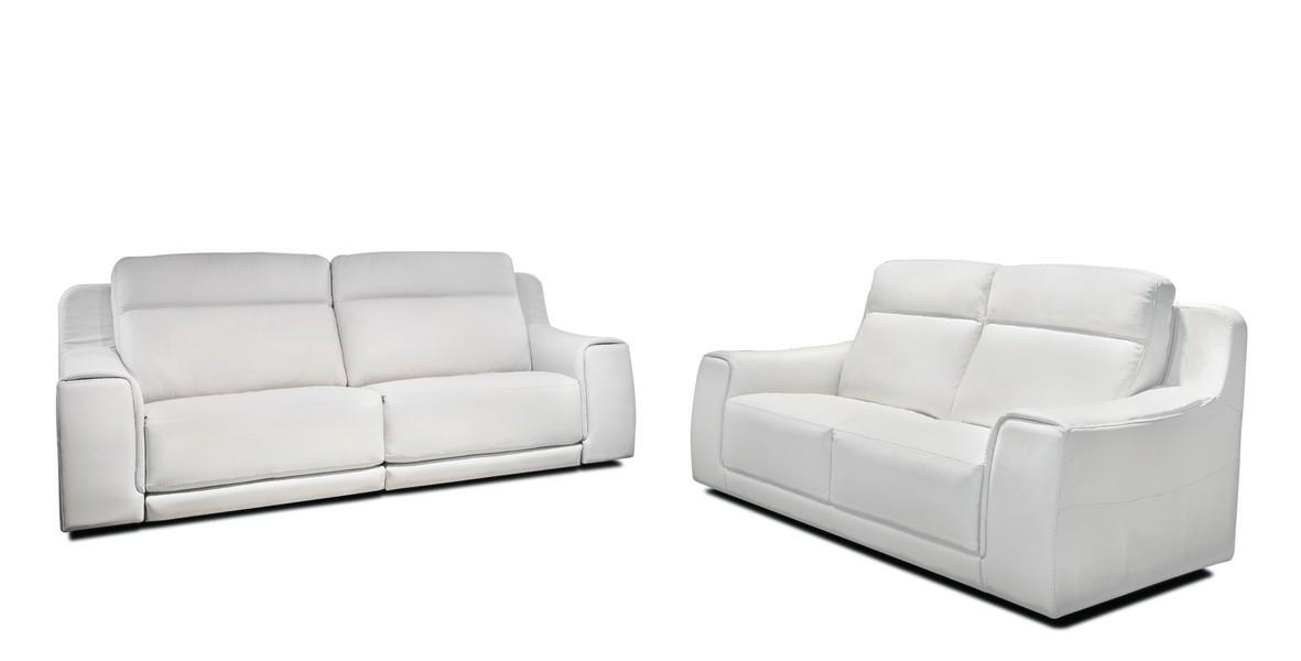 Funes Premium Leather Power Reclining Sofa By IDP Italia
