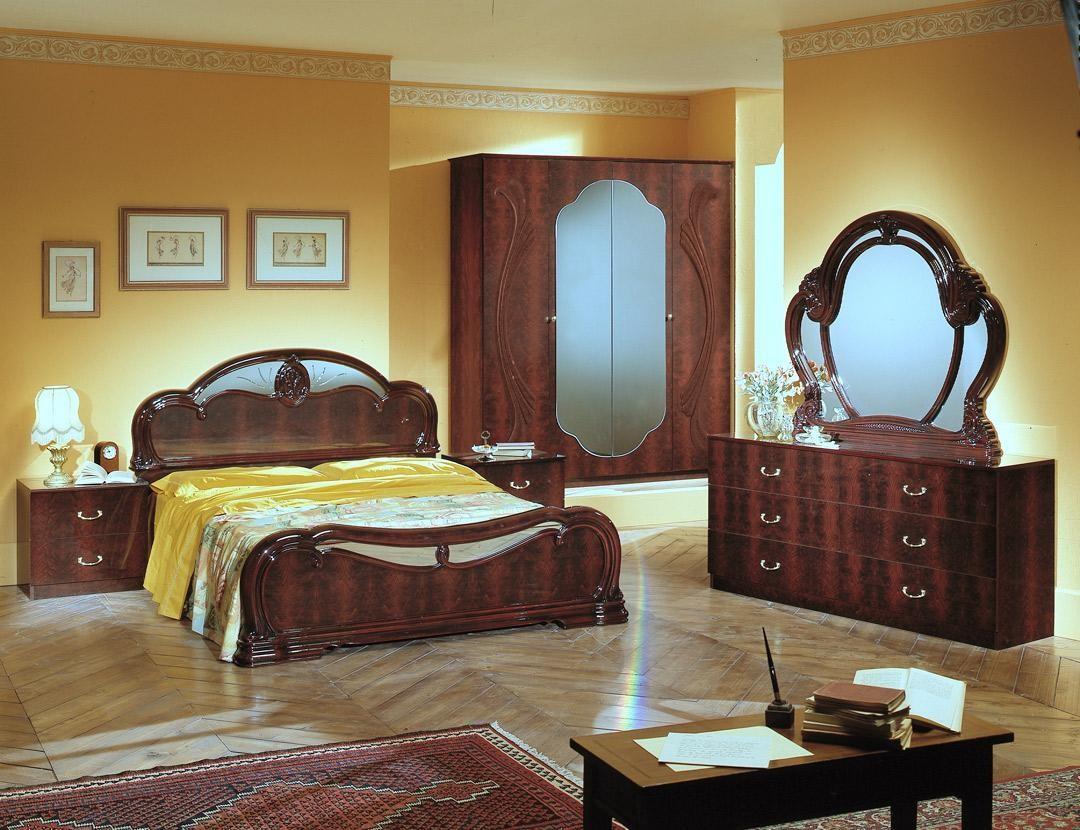 Melania - Italian Classic 5PC Bedroom Set