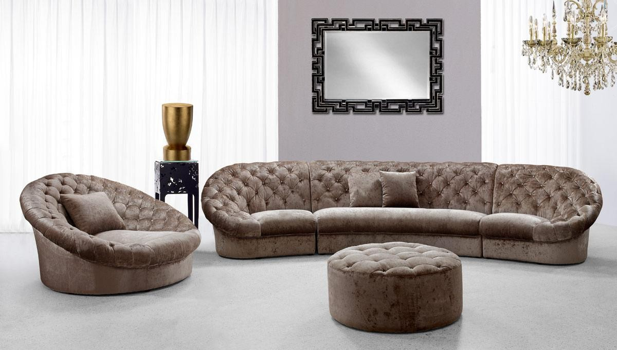 Perfect Cosmopolitan Mini Sectional Sofa Set