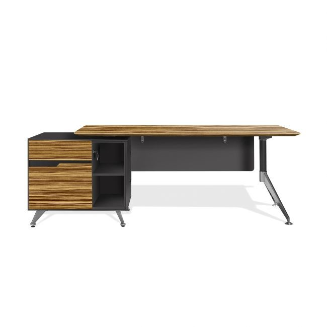 Executive Desk with Return Cabinet  400 series