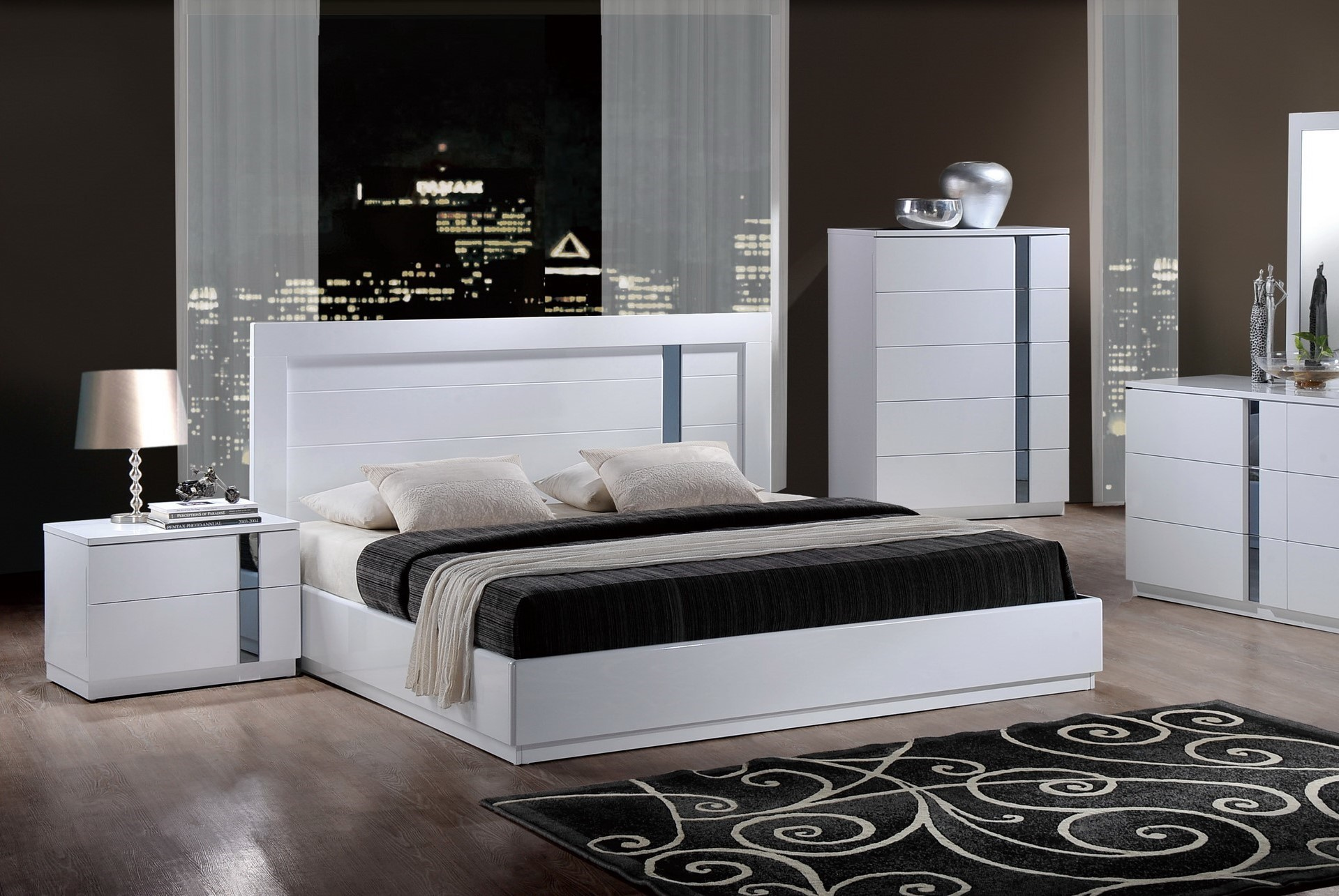 Jody Modern Platform Bed by Global USA