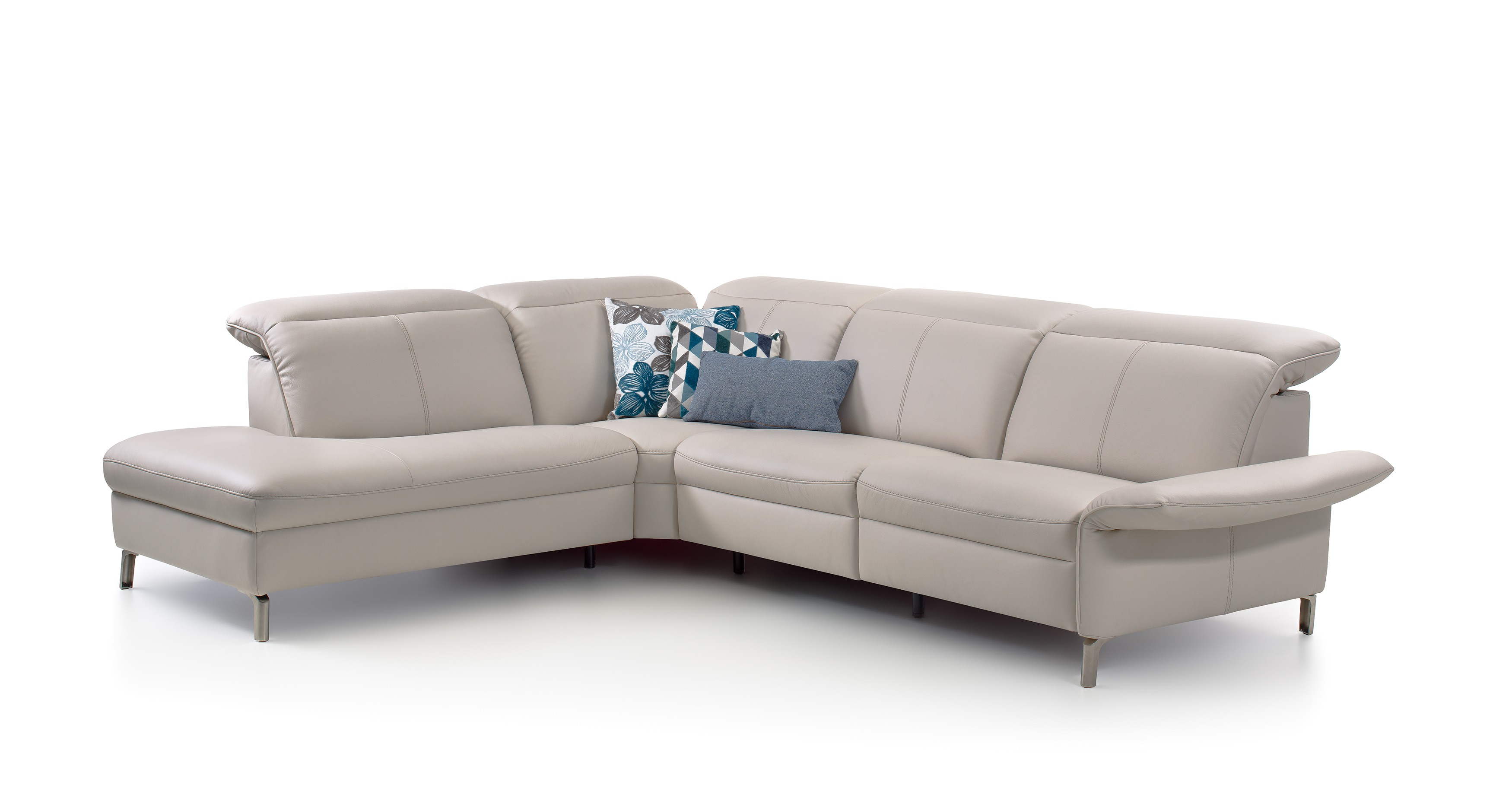Enjoyable Juno Leather Sectional By Rom Belgium At Nova Interiors Andrewgaddart Wooden Chair Designs For Living Room Andrewgaddartcom