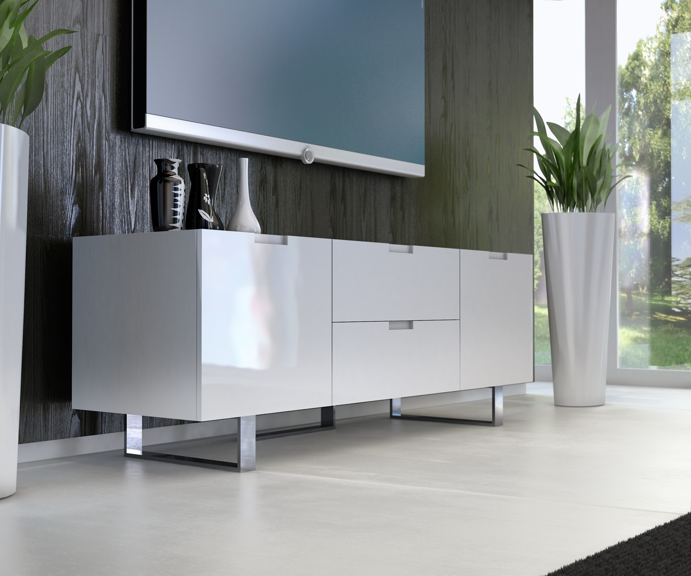 eldridge tv stand by modloft buy from nova interiors contemporary furniture store in boston ma. Black Bedroom Furniture Sets. Home Design Ideas