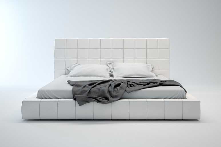 Thompson modern Bed by Modloft