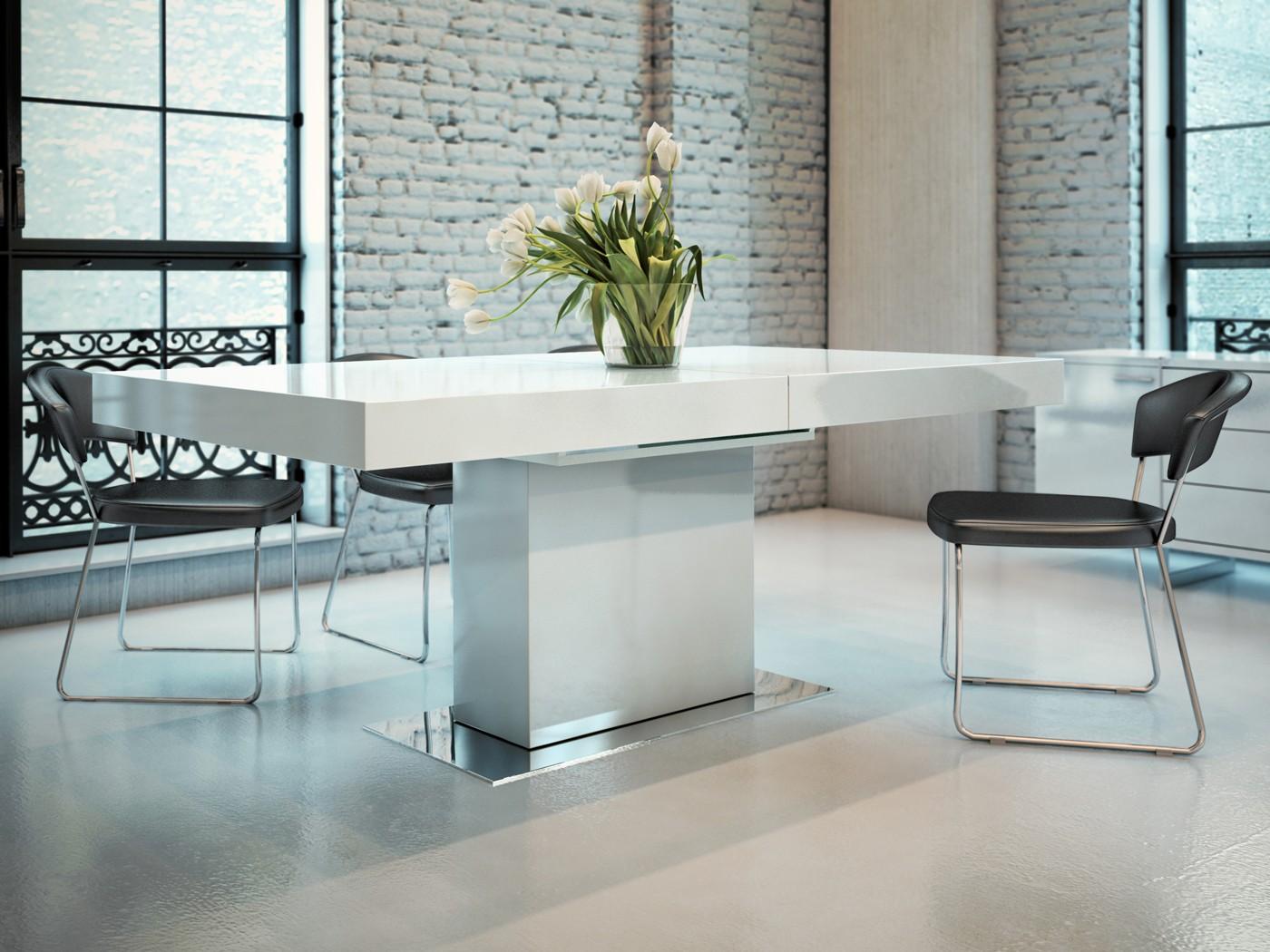 Astor modern dining table by Modloft