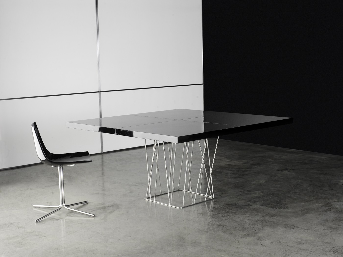 Clarges modern dining table by Modloft