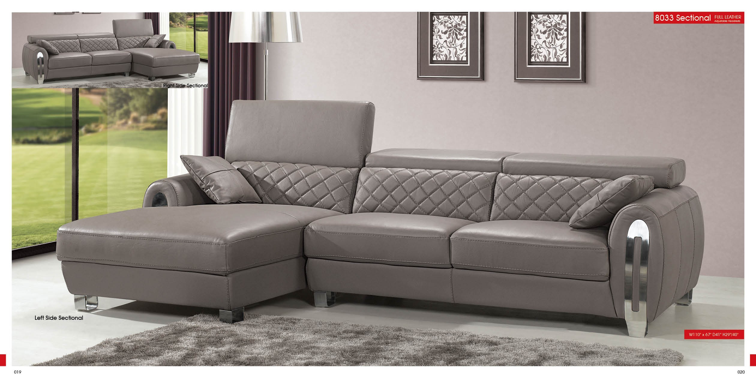 8033 Sectional By ESF