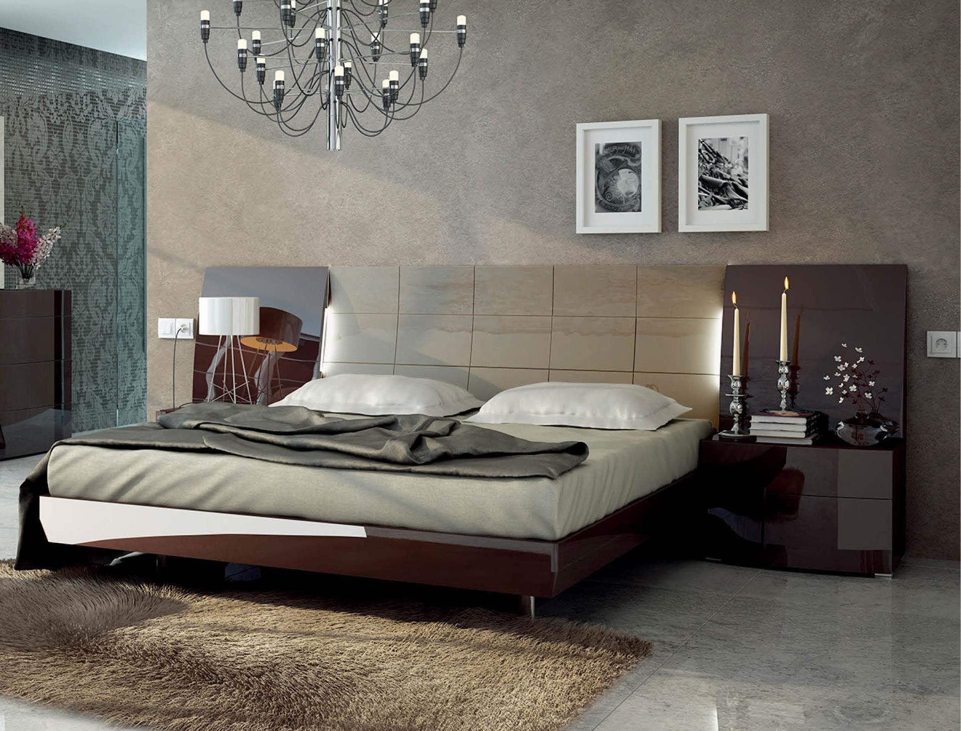 Barcelona Bedroom Set by ESF buy from NOVA interiors contemporary ...