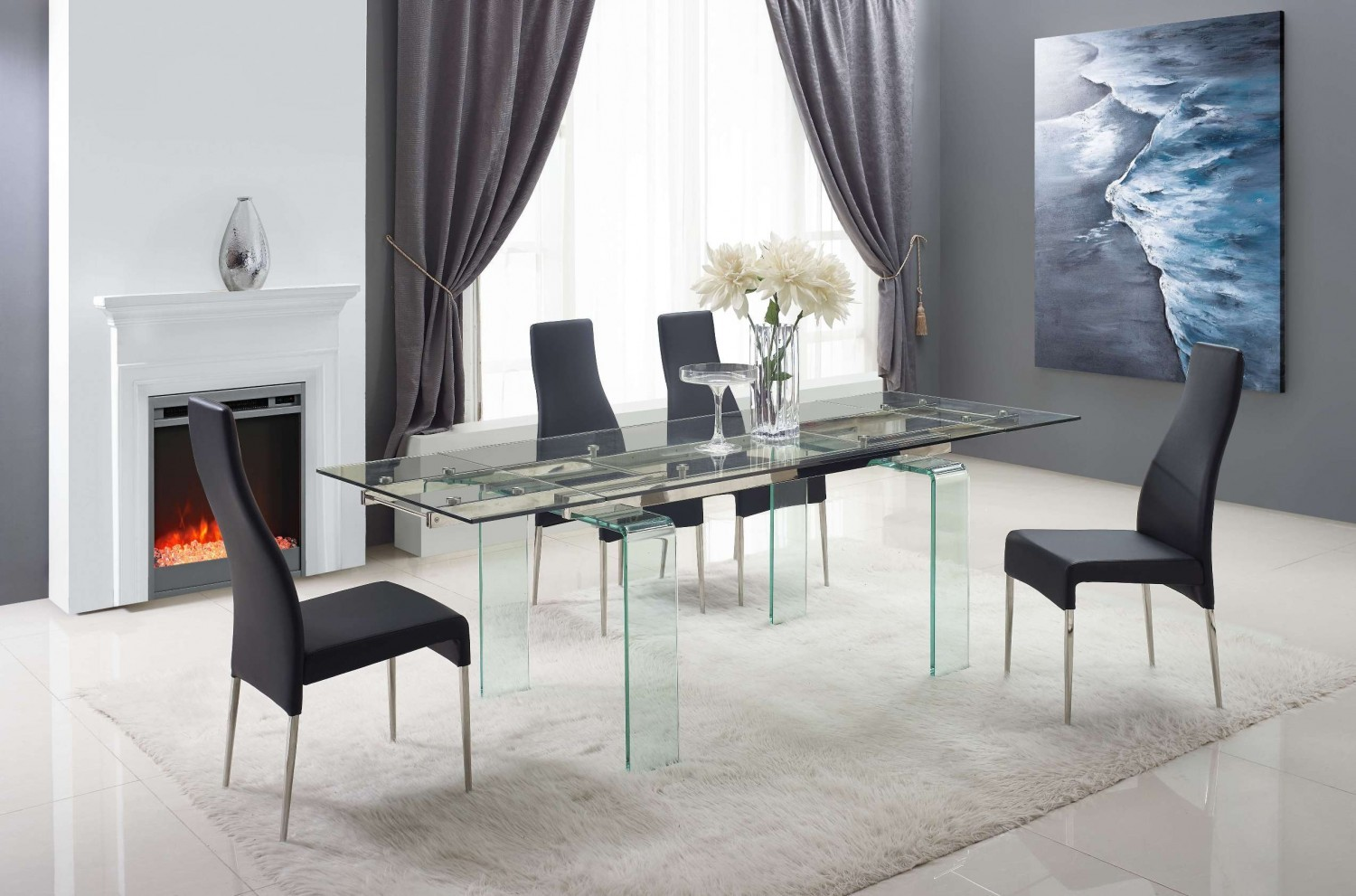 Megan Extendable Dining Table
