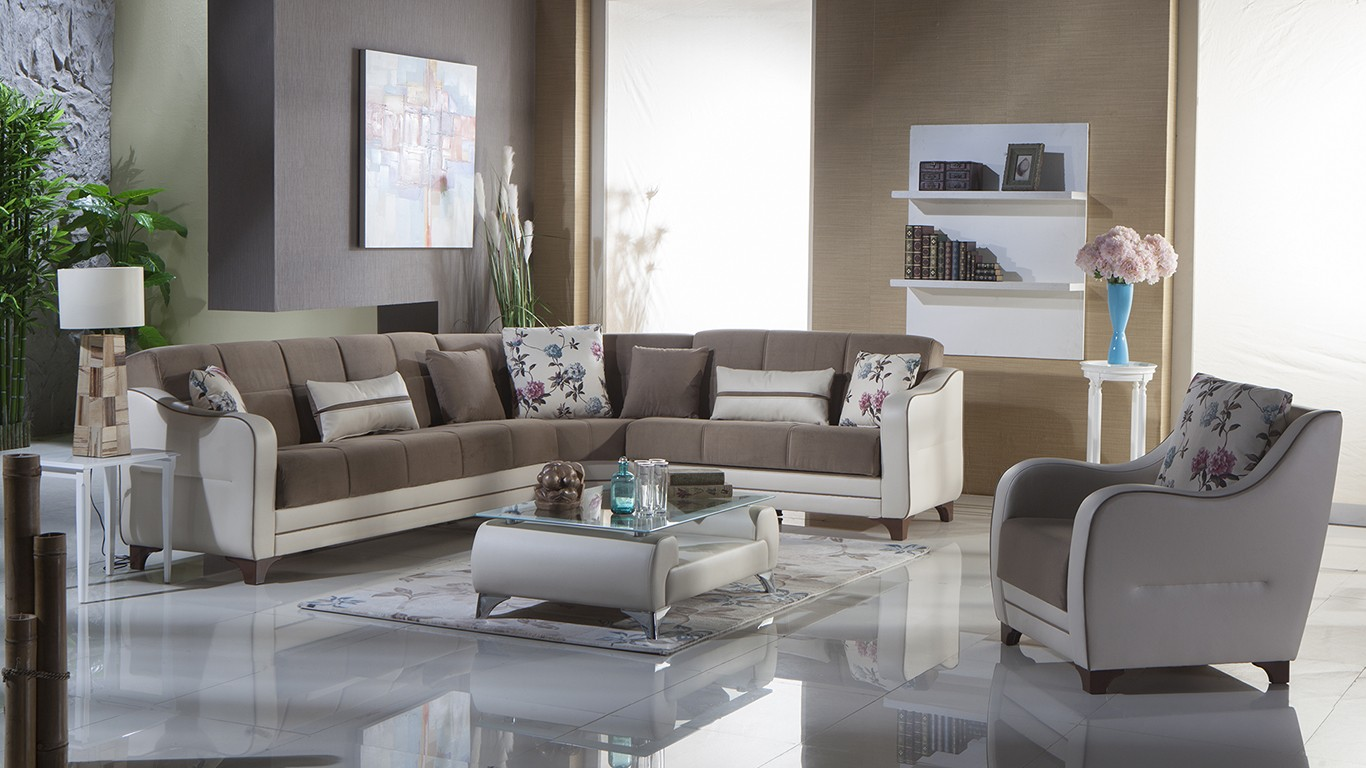 Minas Sectional By Sunset Nepal Estel Vizion Buy From