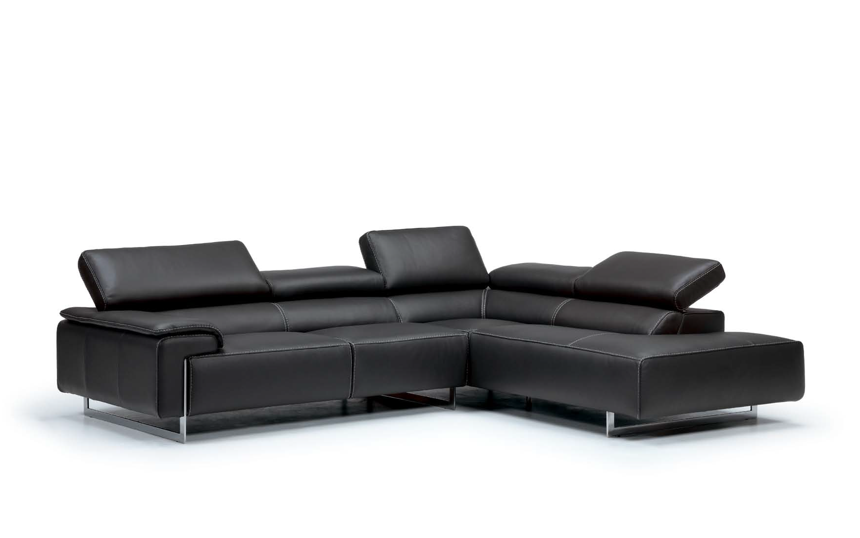 Ming Leather sectional  by IDP Italia