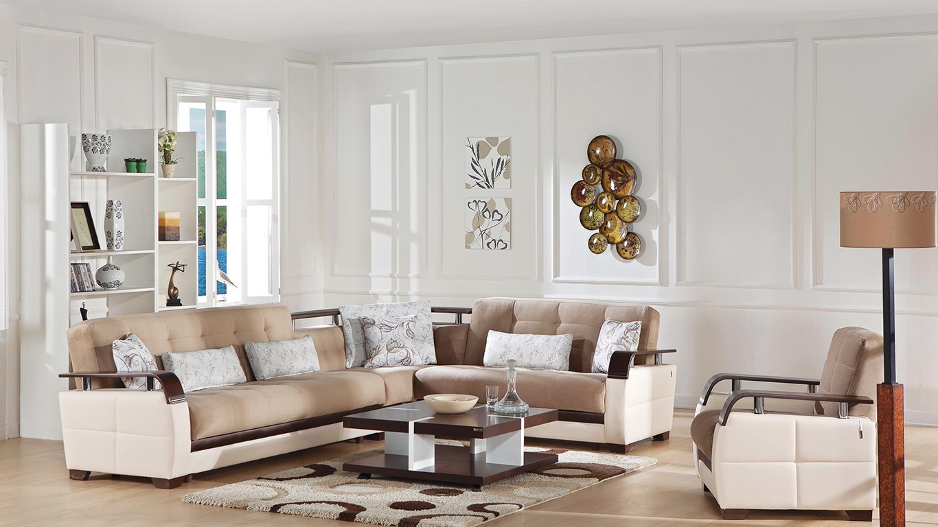NATURAL SECTIONAL Naomi L. Brown By Sunset buy from NOVA interiors ...