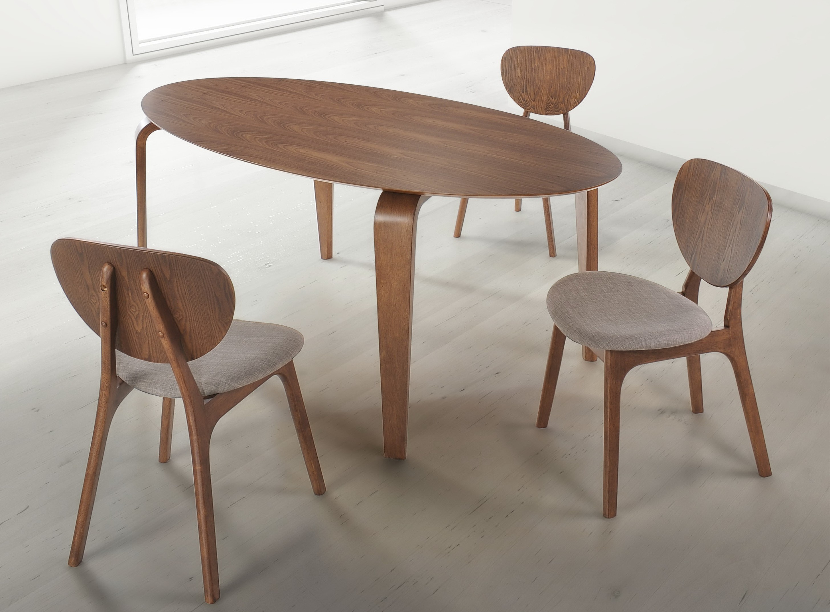 Overton Dining Chair by Zuo mod