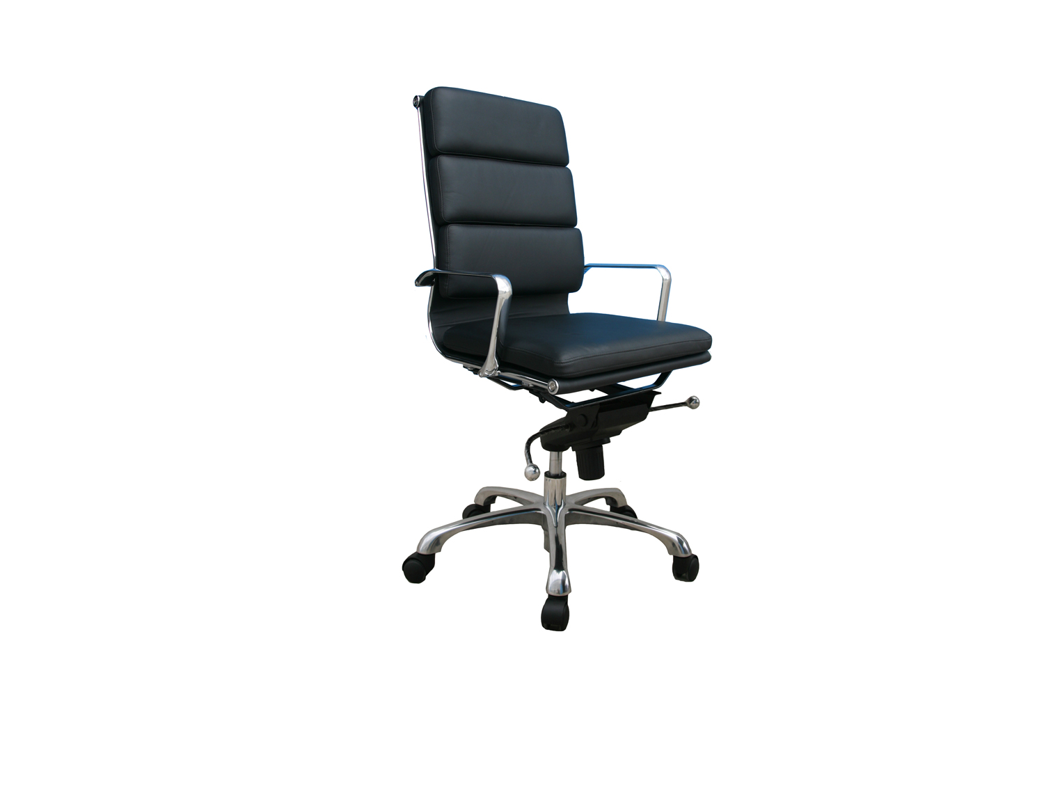 Plush High Back Office Chair