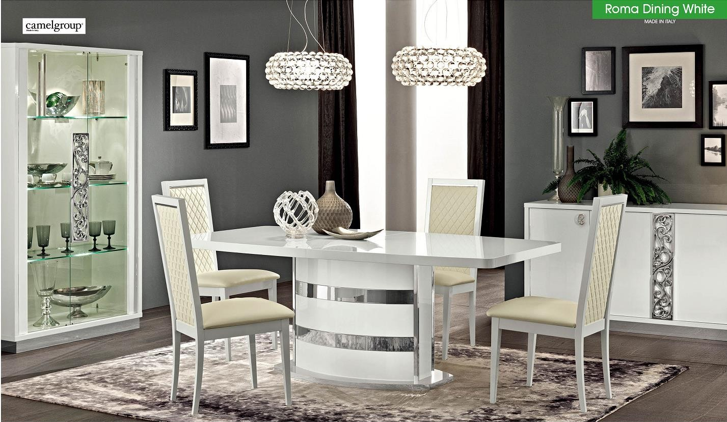 Roma Dining Room Set by ALF White (Made in Italy)