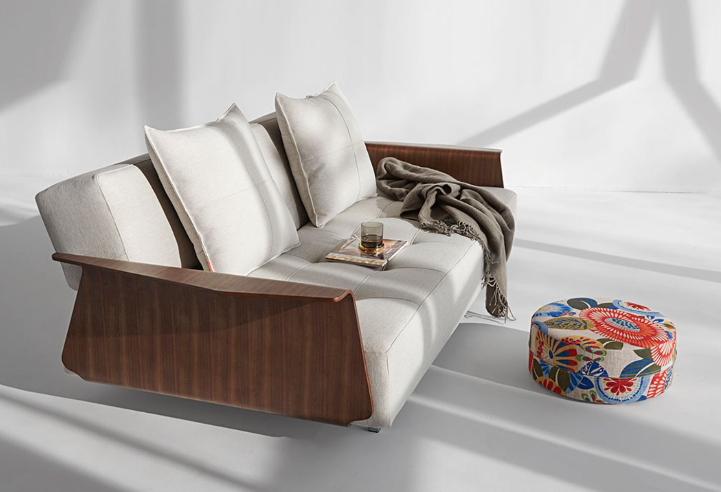 Long Horn Dual Modern Sofa Bed