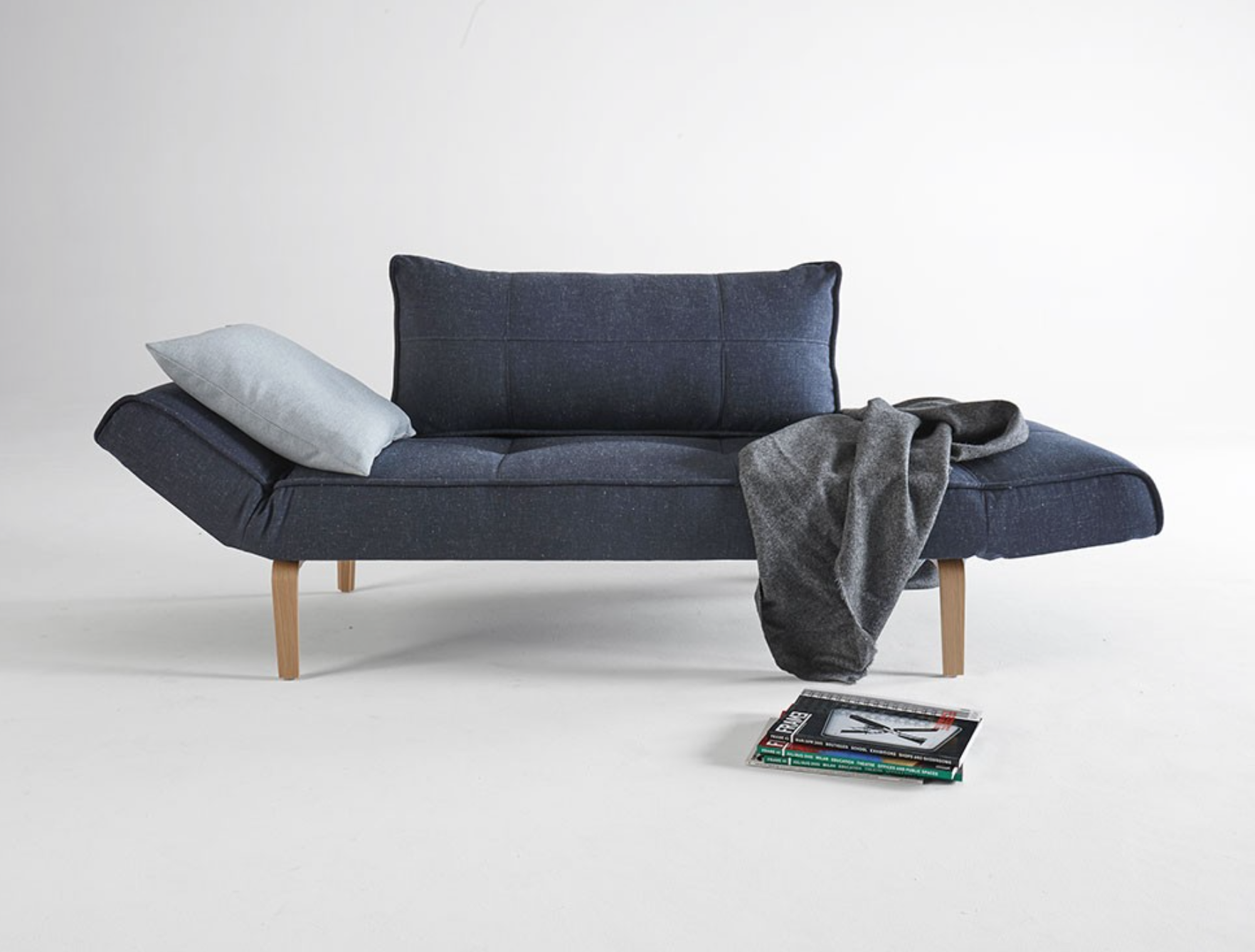 Zeal deluxe modern sofa bed nova interiors for Zeal sofa bed