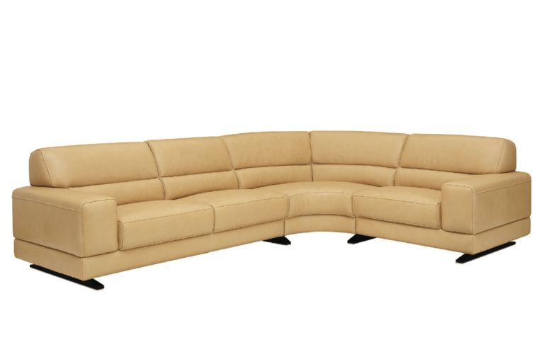 sonnenfeld contemporary leather sectional by w schillig at. Black Bedroom Furniture Sets. Home Design Ideas