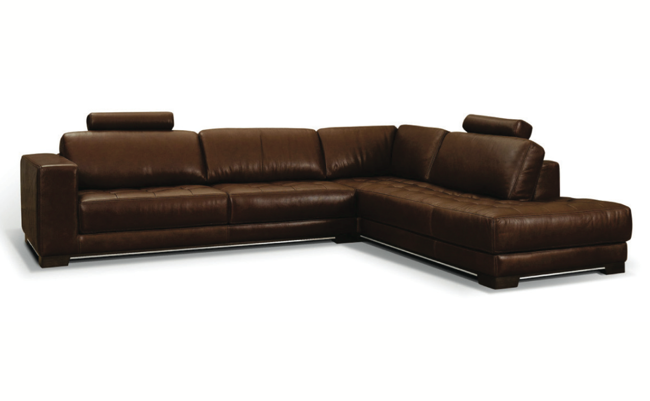 telluride contemporary leather sectional by w schillig at. Black Bedroom Furniture Sets. Home Design Ideas