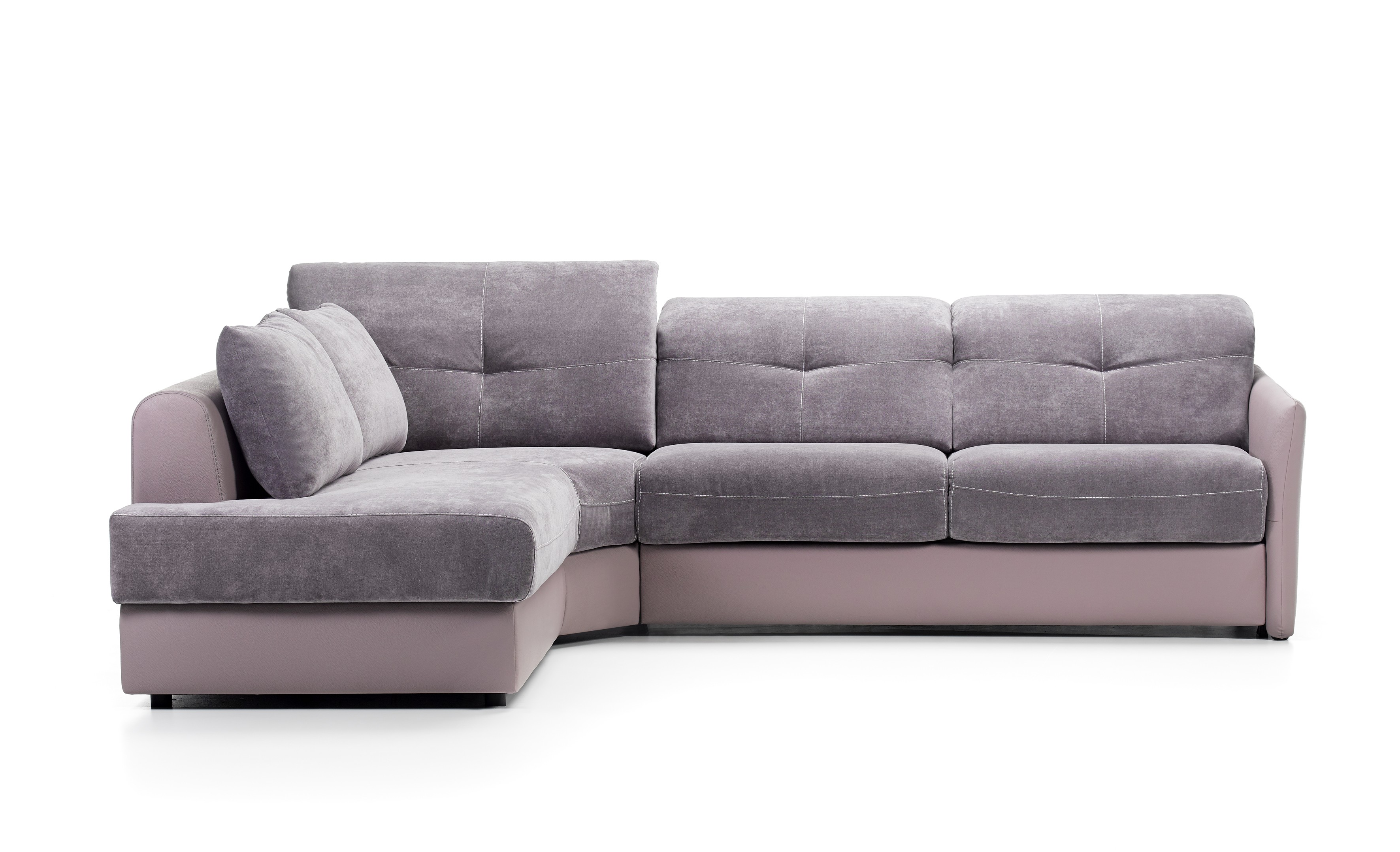 Sirius leather sectional by rom belgium at nova interiors ...