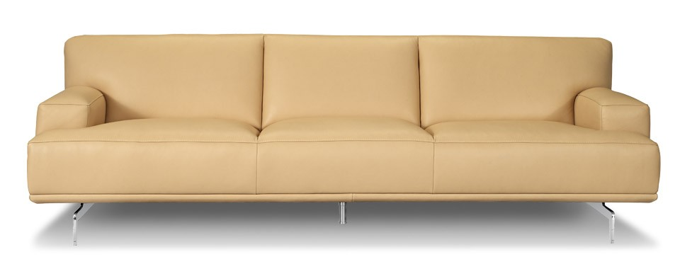 toscaa contemporary leather sofa by w schillig at nova. Black Bedroom Furniture Sets. Home Design Ideas