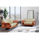 559 Modern Leather sofa by Global USA