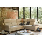 Hera Leather Sectional   Rom   Made in Belgium