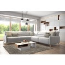 Kamena I Leather Sectional | Rom | Made in Belgium