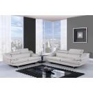 8141 Modern Leather Sofa By Global USA