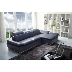 1799 Premium Modern Leather Sectional