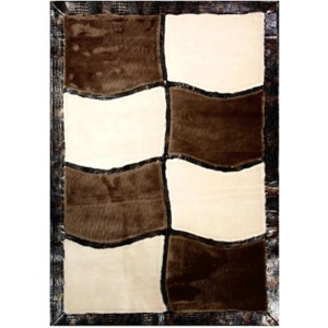 Inspirations I9036 Brown-Beige by Sunset